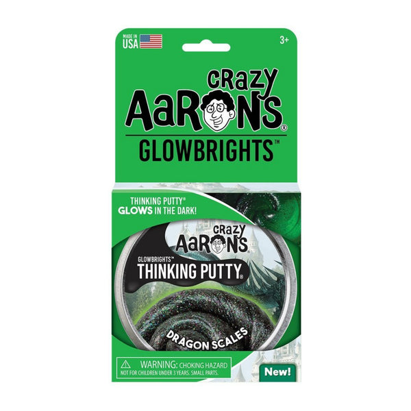 Dragon Scales Glowbrights Thinking Putty