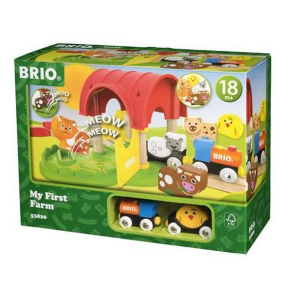 Brio My First Farm Train Set