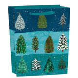 Christmas Conifer Winter Forest Gift Bag