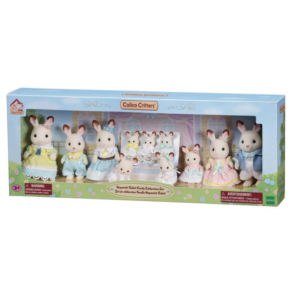 Hopscotch Rabbit Family Celebration Set