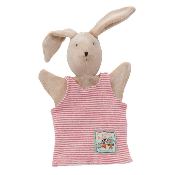 "Sylvain the Rabbit 10"" Hand Puppet"
