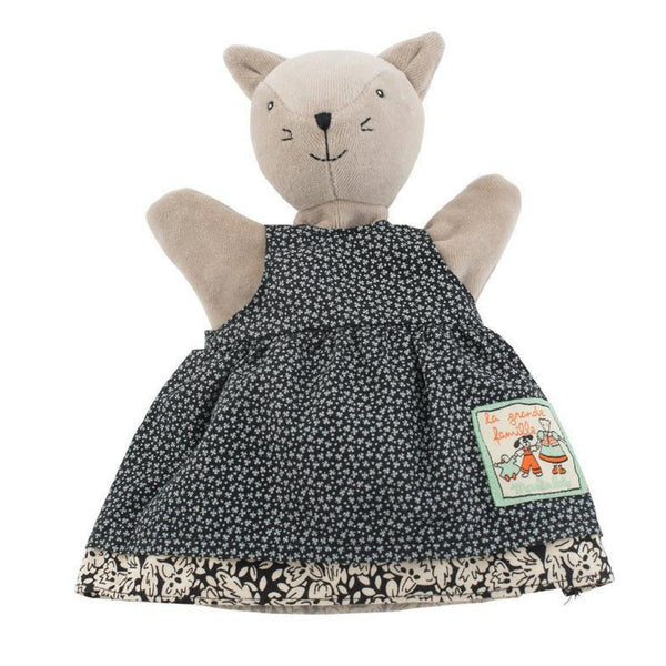 "Agathe the Cat 10"" Hand Puppet"