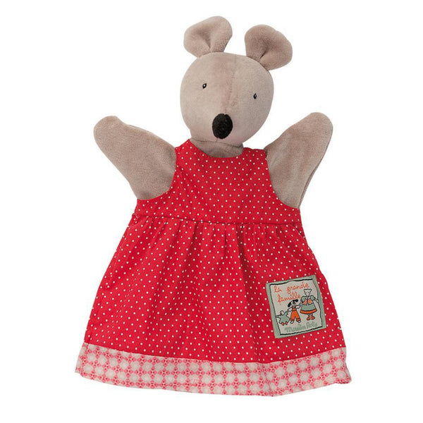 "Nini the Mouse 10"" Hand Puppet"