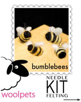 Ladybugs & Bumblebees Needle Felting Kit - Easy