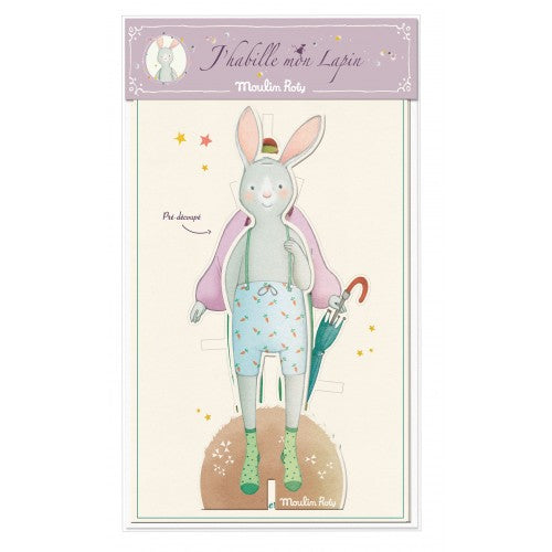 Paper Bunny Dress-Up Doll