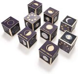 Moon Phase Wooden Blocks