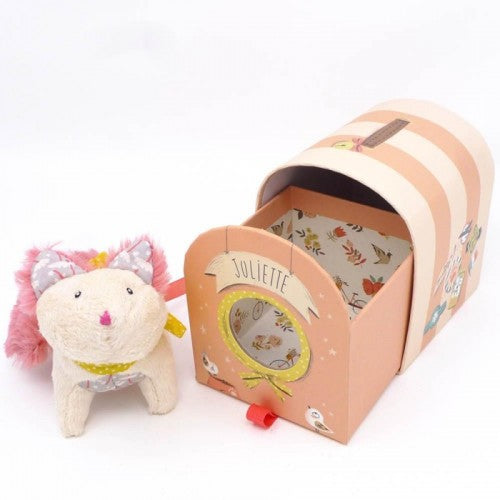 Juliette The Cat Plush & Carrier