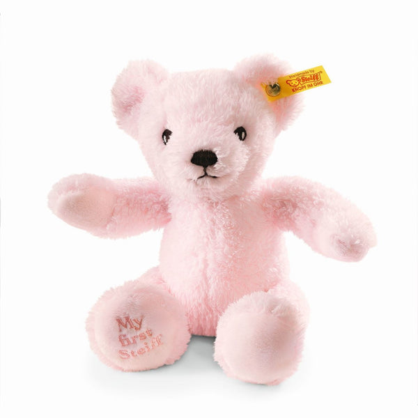 "My First Steiff Pink Teddy Bear 9"" Plush"