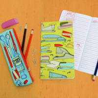 Notes & Calculations: Notebook and Pencil Case Set