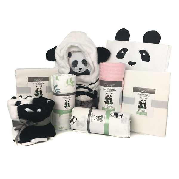 Panda Baby Bamboo Luxury Gift Essentials