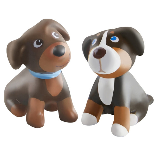 Two Puppy Little Friends Figures