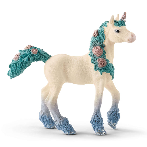 "Flower Unicorn Foal 7"" Figure"