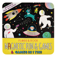 Space Magnetic Fun & Games Tin