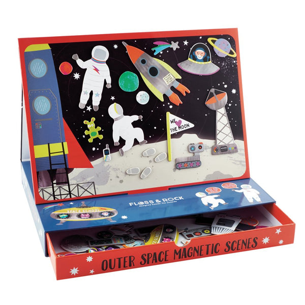 Space Magnetic Play Scene