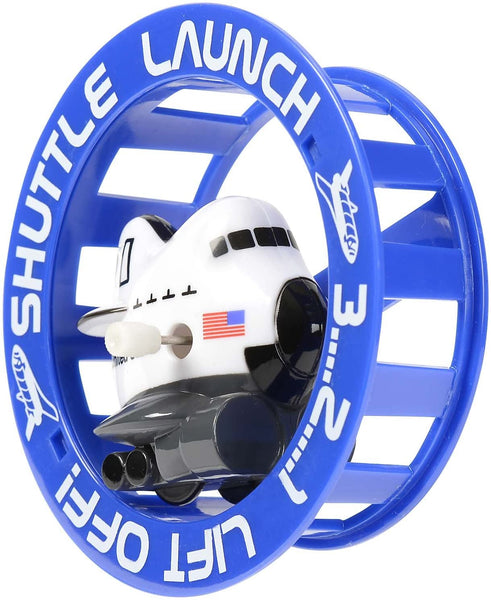 Space Shuttle Wind-Up Wheely Fun Roller