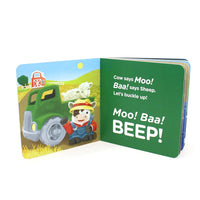 Recycled Plastic First Keys & Board Book Set