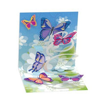 Butterflies Mini Pop-Up Card