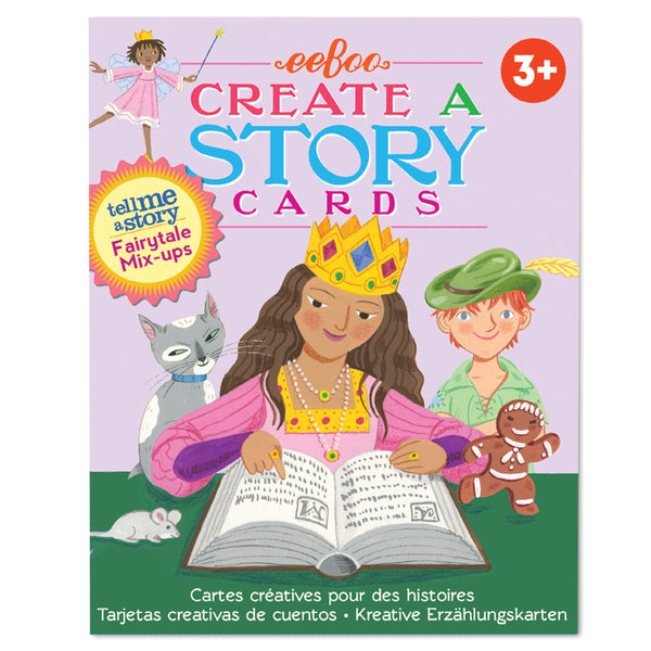Create a Story Cards: Fairytale Mix-Ups