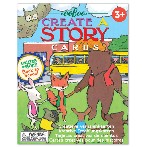 Create a Story Cards: Back to School