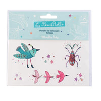 Birds & Insect Temporary Tattoos