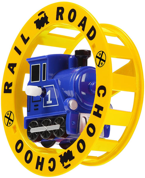 Train Wind-Up Wheely Fun Roller