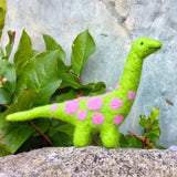 Dinosaur Needle Felting Kit - Beginner Level