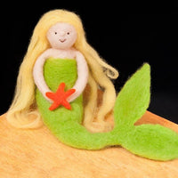Mermaid Needle Felting Kit - Intermediate Level