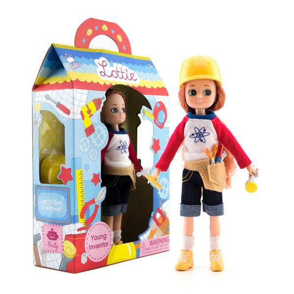 "Lottie Young Inventor 7.5"" Doll"