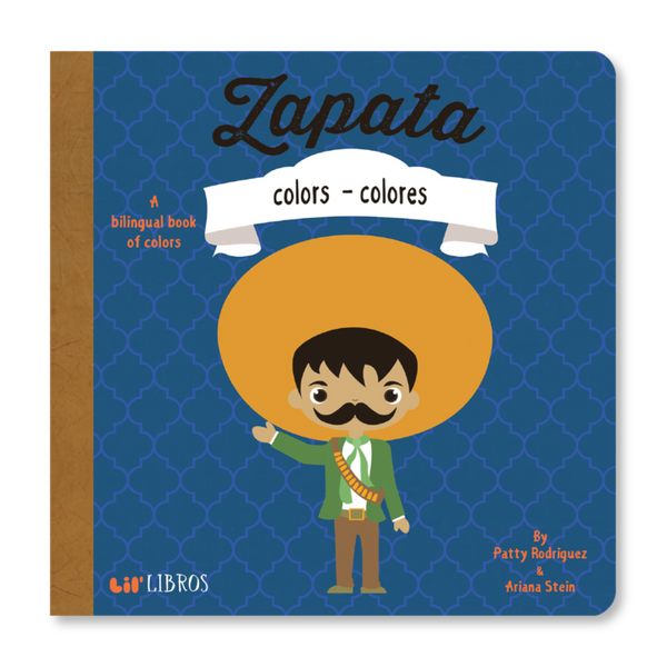 Zapata: Colors Bilingual Board Book