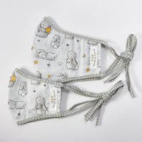 Bloom Bunny with Stars Face Mask - Adult & Kid Sizes