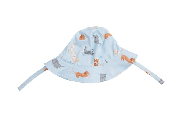 Puppy Play Sunhat Blue