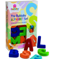 "Soft Magnetic Upper Case 4"" Alphabet Set"