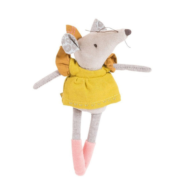 "Lisette the Mouse 7"" Plush"