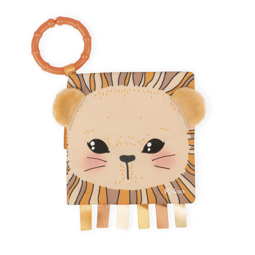 The Curious Lion Soft Activity Book