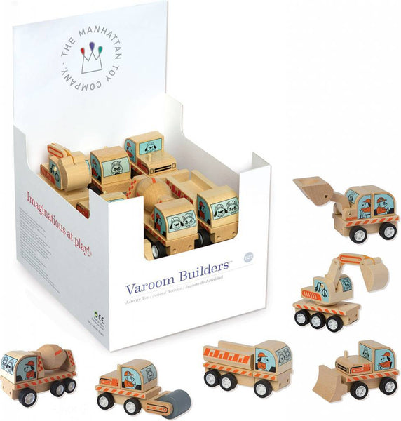 "Varoom Builder 4"" Wood Vehicle"