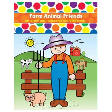 Farm Animal Friends Activity Book