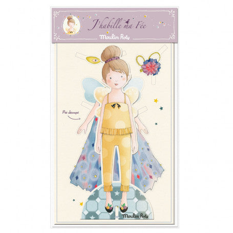 Paper Fairy Dress-Up Doll