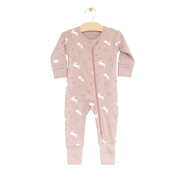 Bunnies 2-Way Zip Romper