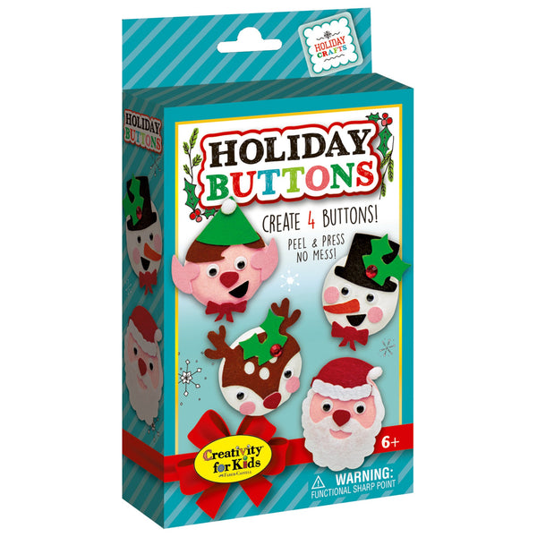 Holiday Buttons Kit
