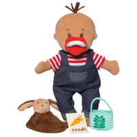 "Wee Baby Stella Farmer 12"" Soft Doll Set"