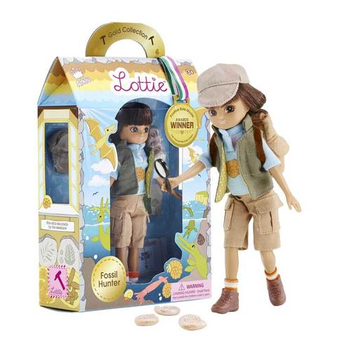 "Lottie Fossil Hunter 7.5"" Doll"