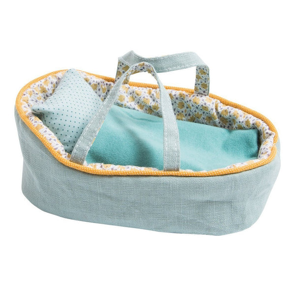Blue Moses Doll Bed, Small