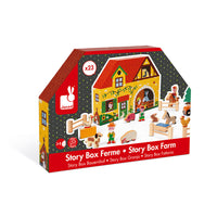 Farm Wooden Story Box