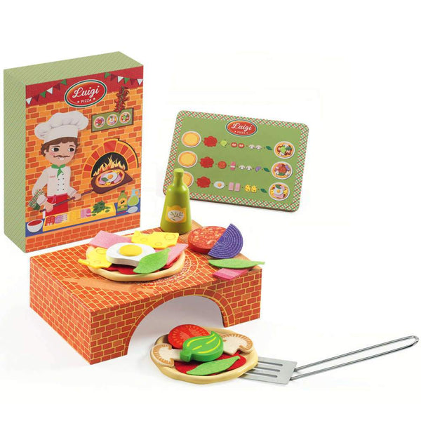 Luigi's Brick Oven Pizza Set
