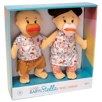 "Wee Baby Stella Twins 12"" Soft Dolls"