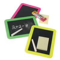 Blackboard with Chalk and Eraser