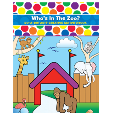 Who`s In the Zoo Activity Book