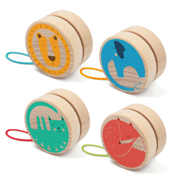 Animal Wooden Yoyos