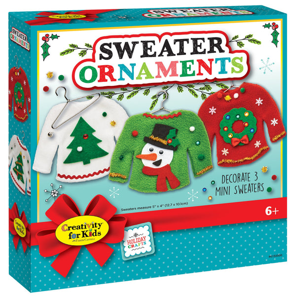 Sweater Ornaments Activity Set