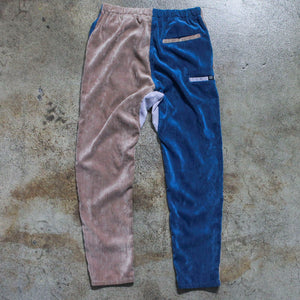 Corduroy Multicolored Velvet Pants